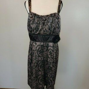 Maurices Size 22 Dress Black and White Tie Back